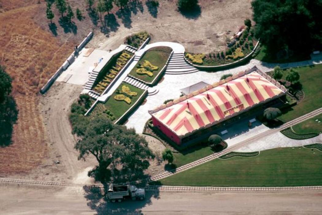 """""""Rancho de la Tierra de Nunca Jamás"""" fue el nombre que Jackson le dio po..."""