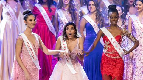 Stephanie del Valle Díaz no pudo ocultar la emoción cuando...