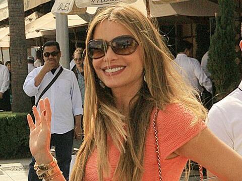 La irresistible colombiana se robó todas las miradas. Más...