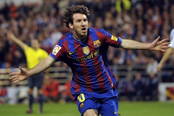 Pero Messi se encargó de tapar los errores de sus compañer...