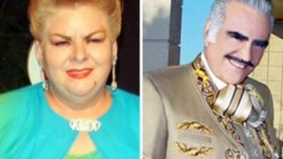 Paquita la del Barrio y Vicente Fernández estarán en Houston no te lo pi...