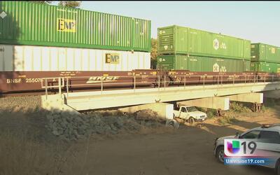 Se descarrila tren de carga en Galt
