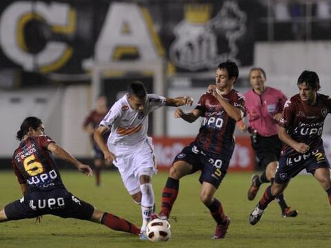 El encuentro del Grupo 5 de la Libertadores terminó igualado a un...