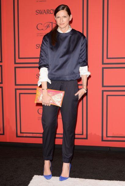 Por algo Jenna Lyons es la directora de la reconocida marca de moda J. C...