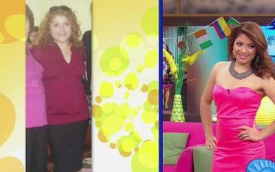 Ella logró bajar 43 libras en 4 meses gracias a  Alejandro Chabán