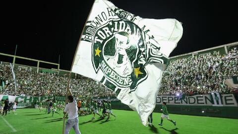 Atlético Nacional realizó emotivo homenaje a los integrantes del equipo...