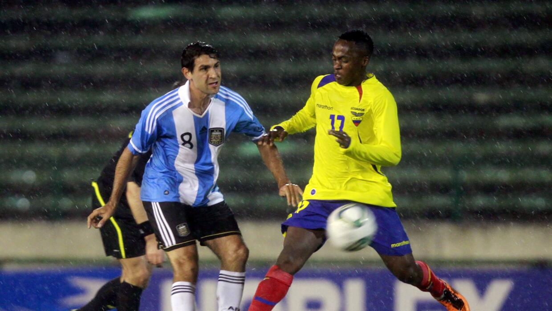 Diego Valeri con la selección de Argentina