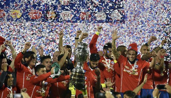 Chile campeón Copa América