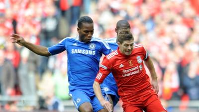 Didier Drogba vs Steven Gerrard