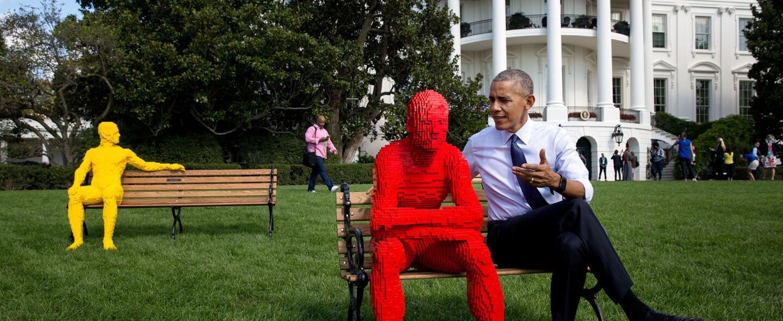 El Presidente posa para el fotógrafo de la Casa Blanca, Pete Souza, dura...