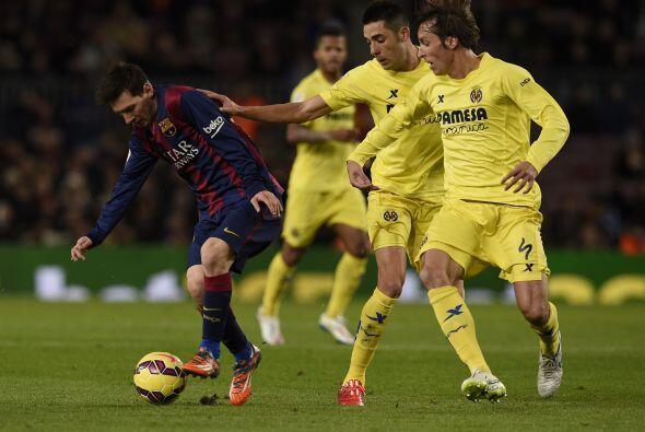 Nuevamente Barcelona tuvo que venir de atrás y dos minutos después Rafin...