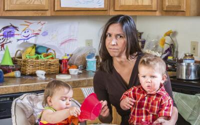 Padres estresados crean, ¿hijos obesos?