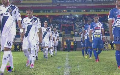 Isidro Metapán aplastó 4 - 0 a LA Galaxy en la CONCACAF Liga de Campeones