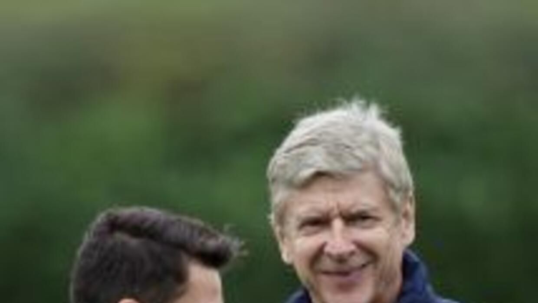 El técnico francés está sacándole el mayor provecho al talentoso alemán...