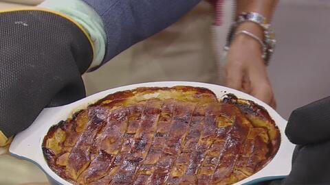 La receta fácil de Karla Martínez para preparar el Pastel de Pollo en Ca...