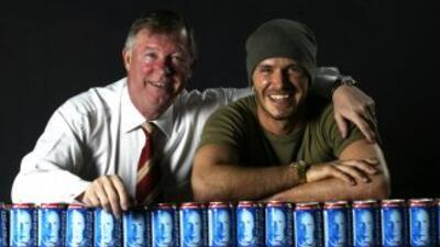 Ferguson tuvo a Beckham en el United desde los 11 años, cuando el jugado...