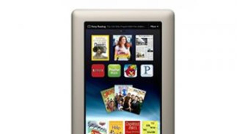 Barnes & Noble lanzó su nueva tableta Nook a color.