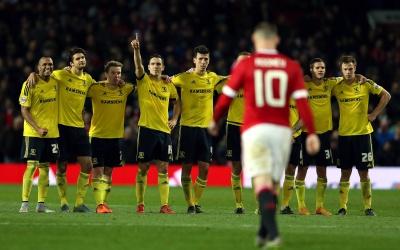 Manchester United fracasa