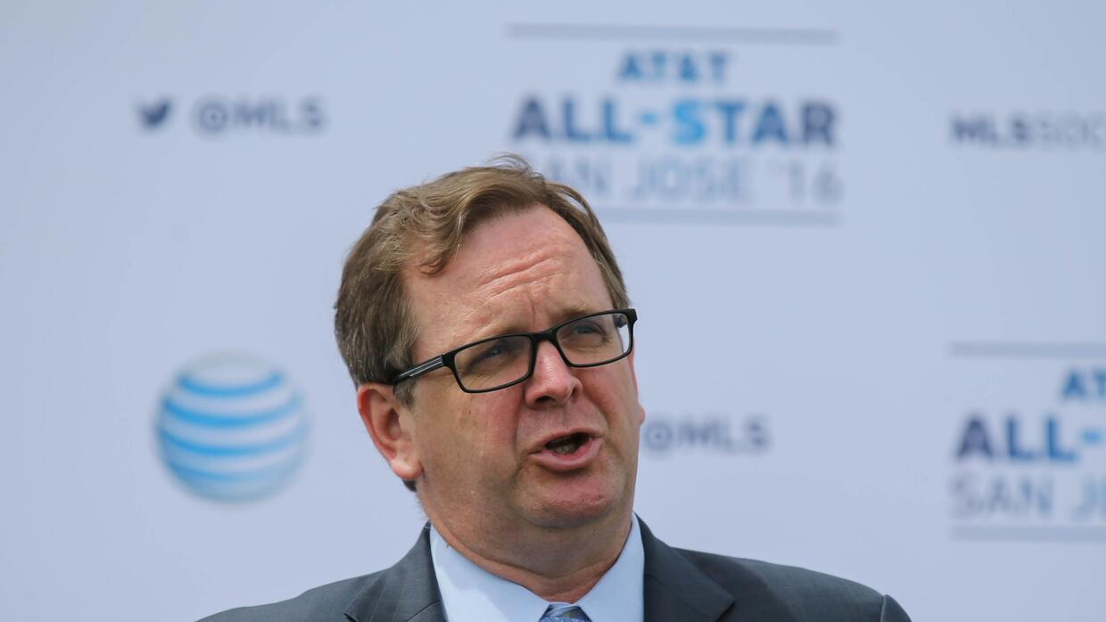 Mark Abbott, presidente de la MLS