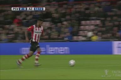 PSV golea sin problemas al AZ Alkmaar