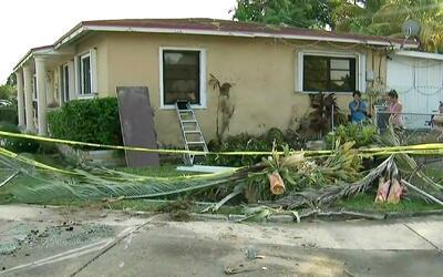 Un policía de Miami recién graduado murió en trágico accidente automovil...