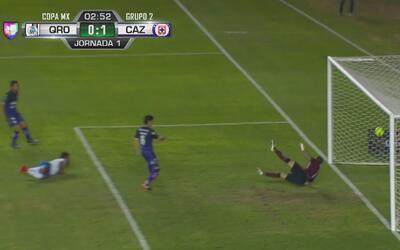 Cauteruccio se estrena con Cruz Azul al marcar el 1-0 sobre Querétaro