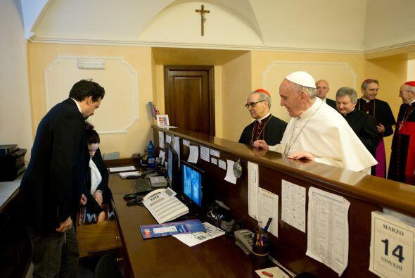 El pasado mes de marzo, el papa Francisco retiró sus valijas de l...