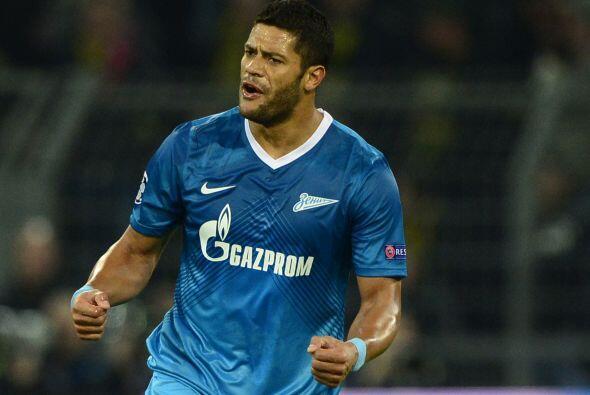 Aunque muchos ya daban por eliminado al Zenit, el brasileño Hulk ponía e...