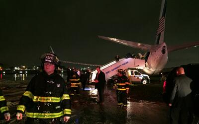 Avión Pence LaGuardia