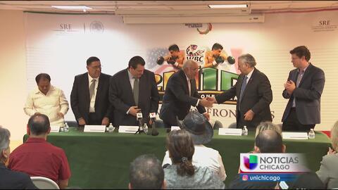 México y Chicago se unen a través del boxeo
