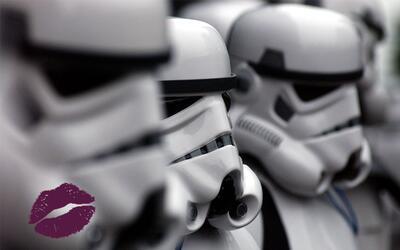 La colección de maquillaje de Star Wars tiene 6 tonos de lipsticks.
