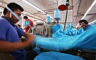 Los talleres de costura son conocidos como 'sweatshops'.