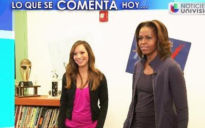 Satcha Pretto entrevistó a Michelle Obama