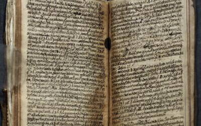 """Este manuscrito de Luis de Carvajal, """"El Mozo"""", será ex..."""