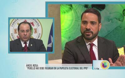 Ángel Rosa reafirma que tener a Perelló en la papeleta es peligroso para...