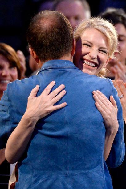 Cate Blanchett celebrando su triunfo. Mira aquí los videos m&aacu...