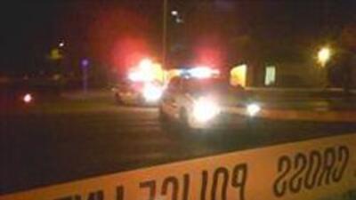Policia de Mesa investigando un incidente