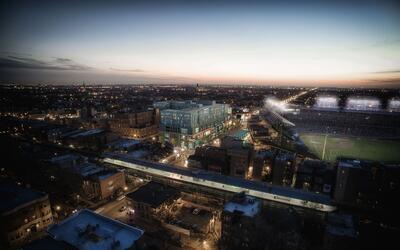 Así será el nuevo complejo residencial frente al Wrigley F...