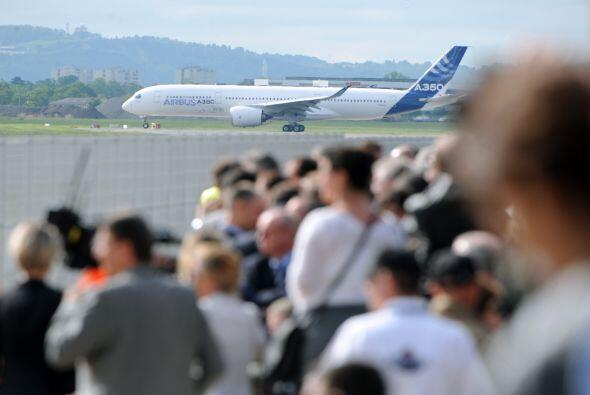 El Airbus A350 y el Boeing ahora comenzarán una lucha por ofrecer...