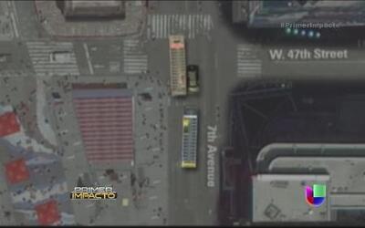 Nuevas imágenes del accidente de autobuses turísticos en Time Square