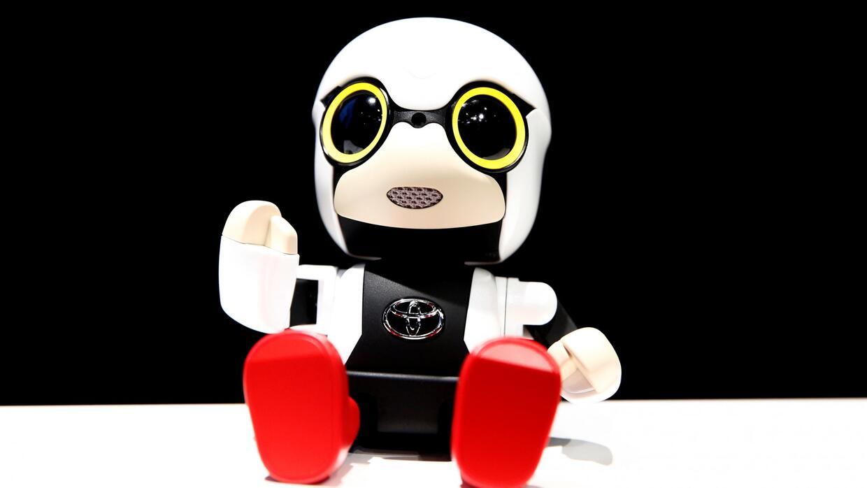 Toyota presenta a un nuevo mini robot que cabe en la palma de la mano