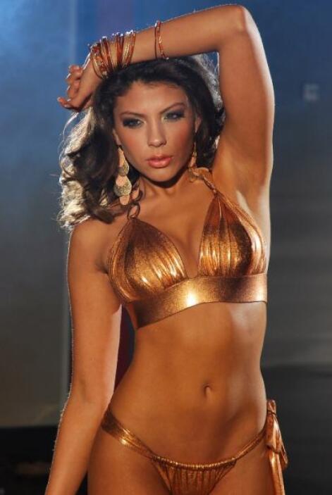Nikole Suárez participó en la quinta temporada de Nuestra Belleza Latina...