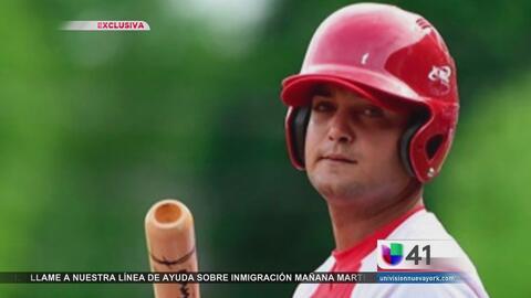 Reaccionan ante deserción de jugador de béisbol cubano