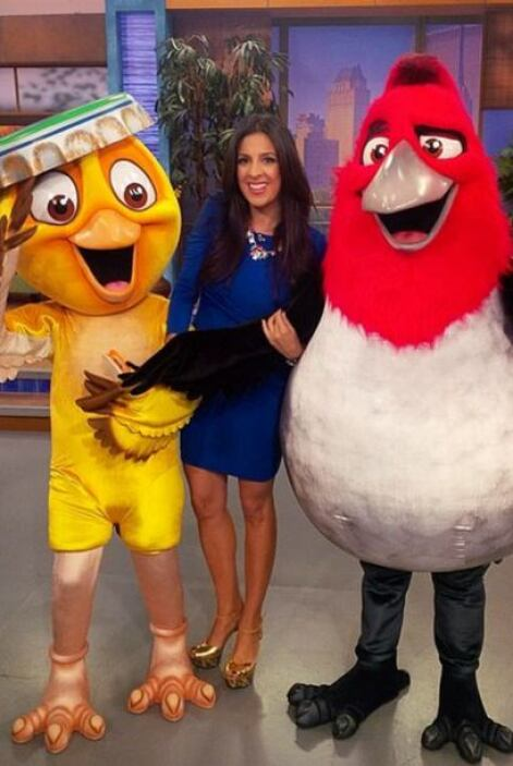 """Great to wake up with #Pedro and #Nico from #Rio2"", dijo Maity. (Abril..."