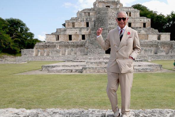 Este príncipe parece que encontró su castillo maya.