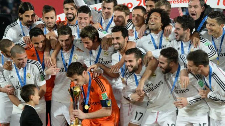 El Real Madrid logró el récord de puntos en un año en el ranking de l a...