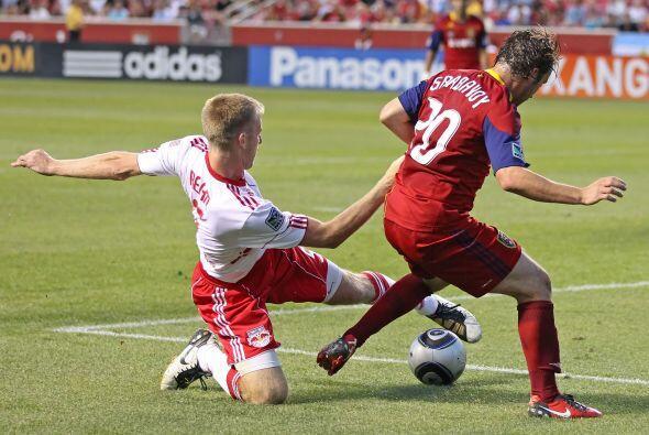 El Real Salt Lake hizo historia en la MLS en su duelo contra los Red Bul...