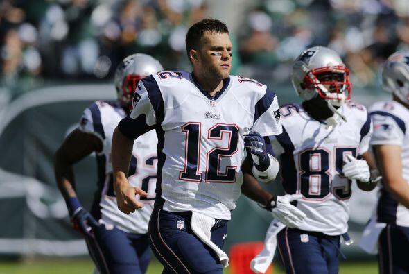 N°7 El del QB de los New England Patriots, Tom Brady (AP-NFL).