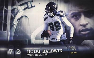 Top 100 Jugadores del 2016: (Lugar 72) WR Doug Baldwin