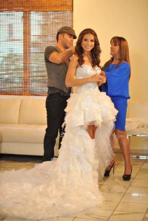 """""""Siempre que pienso en un vestido de novia pienso en el vestido con el q..."""